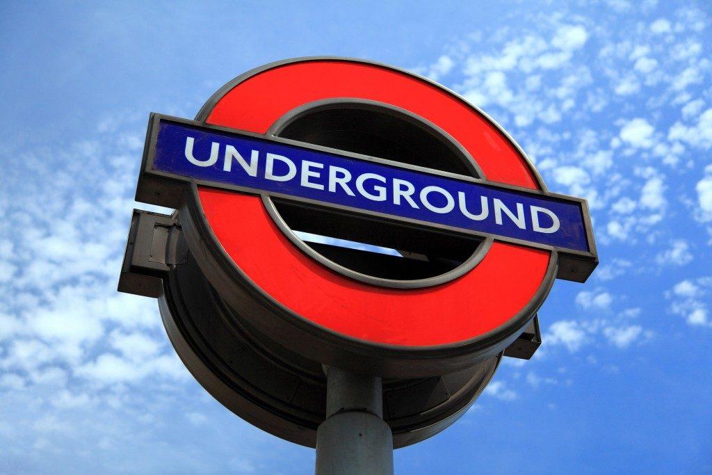 Le metro à Londres