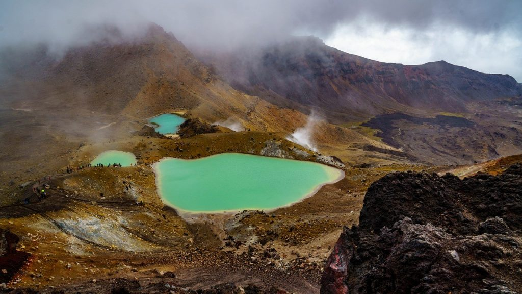 Les volcans du Parc national du Tongariro