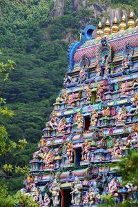 Temple indou aux Seychelles