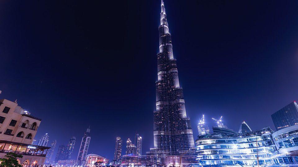 Burj Khalifa de nuit