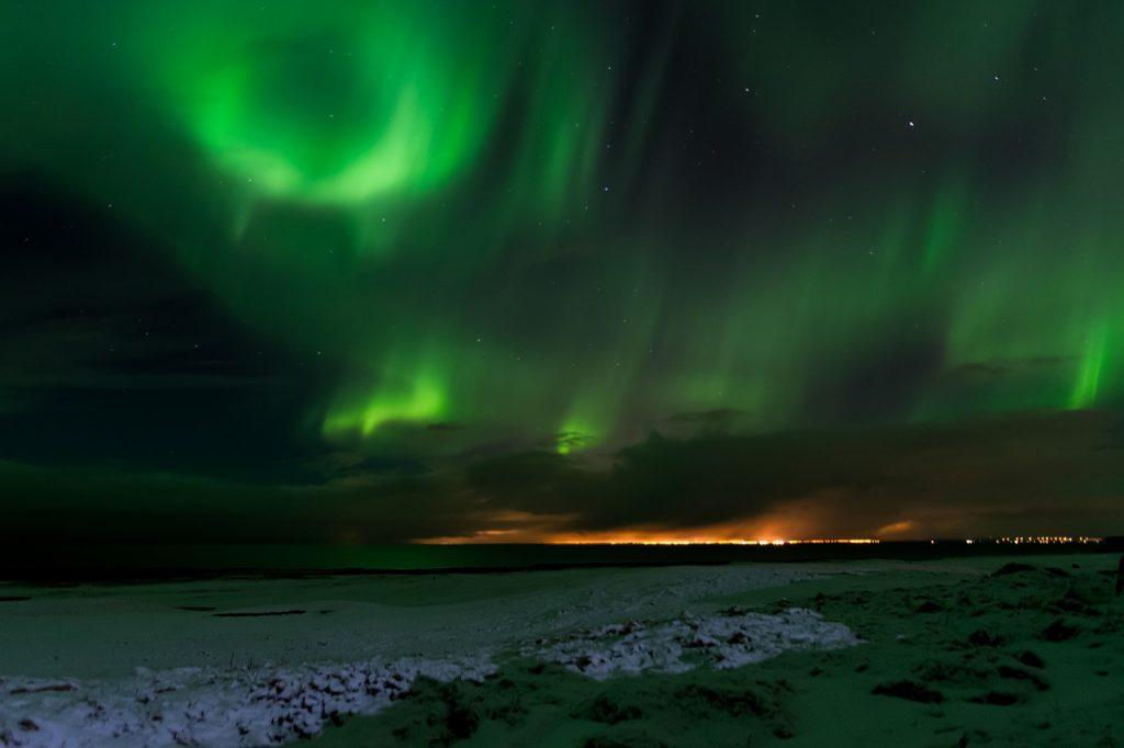 Les aurores boréales d'Islande