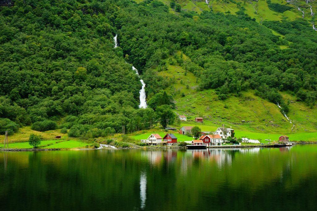 Les fjords de Norvège en été