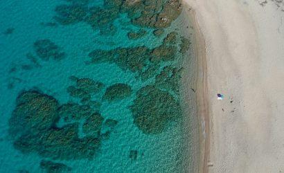 Plage Olmeto en Corse