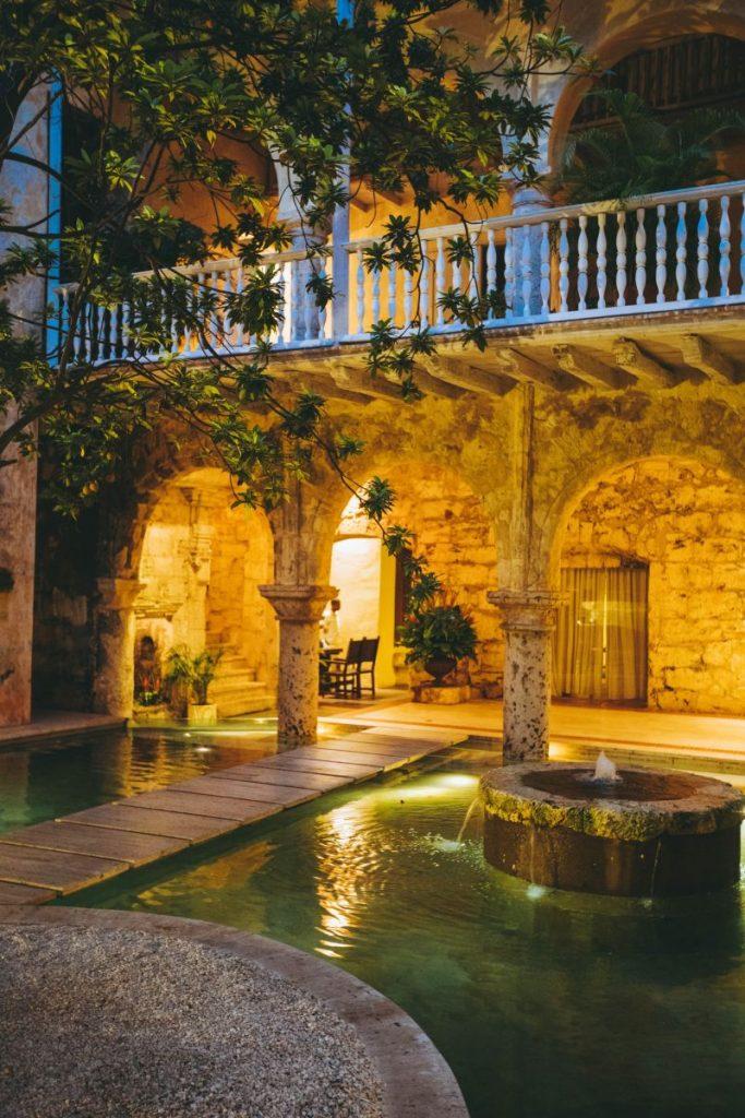 La vielle ville de Cartagene
