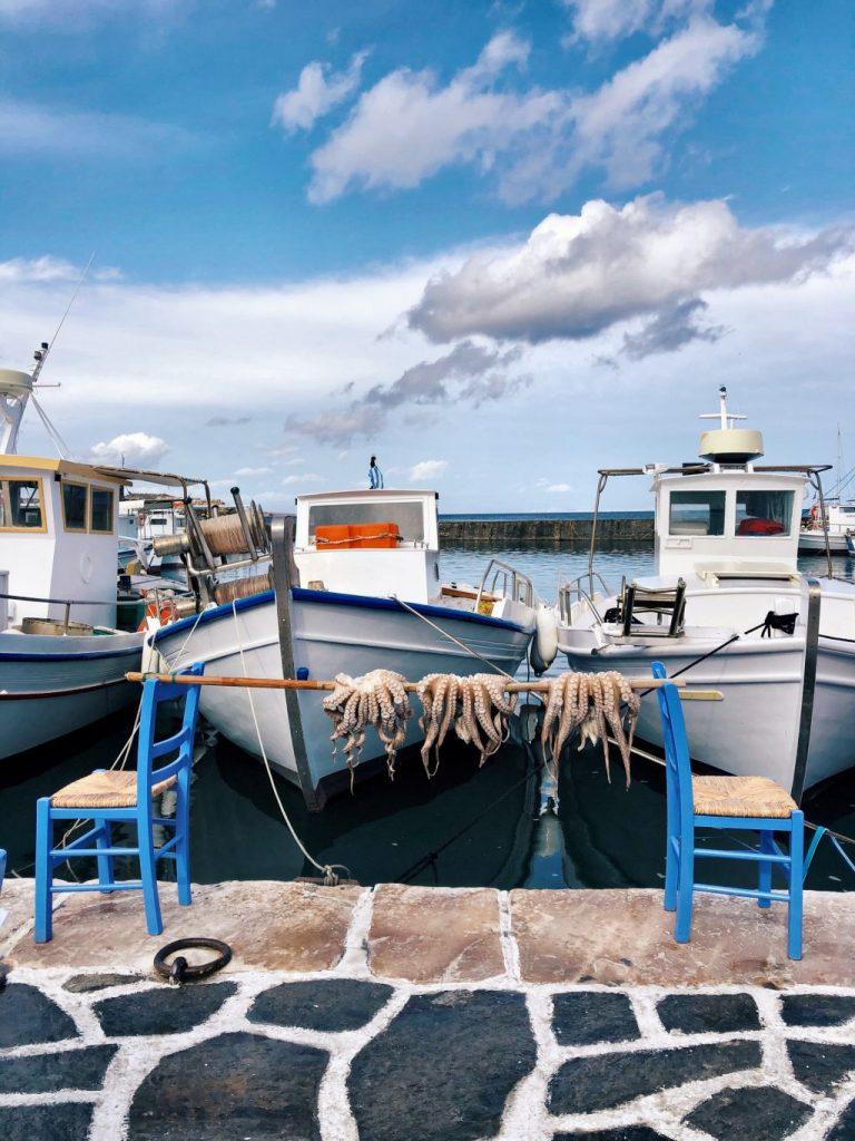 Ile de Paros en Grèce